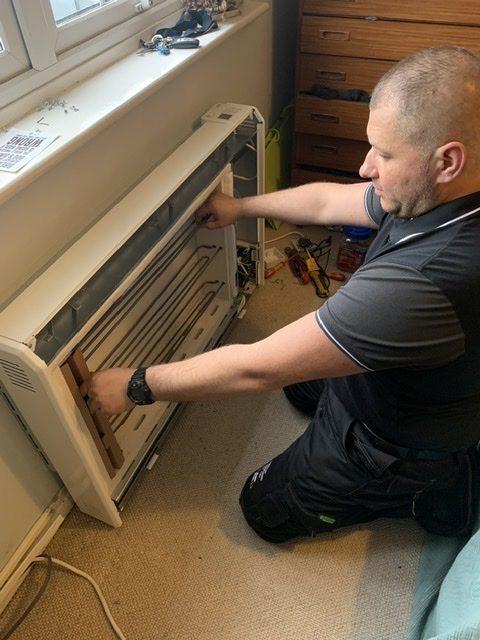 storage heater engineer